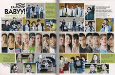 High School Yearbook Pages by Caleb Lam, via Behance