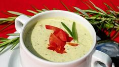Vegan or not you will love this creamy and rich Zucchini With Coconut Cream Soup. It is a very easy to make and comforting soup that is filling and delicious. Zucchini Soup, Broccoli Cheese Soup, Broccoli Cheddar, Fresh Broccoli, Cauliflower Soup, Zucchini Bread, Spiral Zucchini, How To Thicken Soup, Soup Recipes
