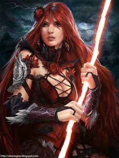 Thunder Queen for Legend of Cryptids ios game by alexnegrea.deviantart.com on @deviantART