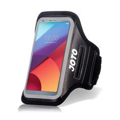 LG G6 Armband Case, JOTO Sport Exercise Armband for 2017 LG G6, with Key Holder, Credit Card Money Holder, Sweat Proof, for Gym Fitness Walking Jogging Workout G6 running arm belt (Black). Compatible with LG G6. Features: Built in key holder, ID/Credit Card/Cash Holder and earphone jack openings. Quality Materials: Made from premium lightweight neoprene; sweat proof, durable and protects your device all around. Full Touchscreen Compatibility: Clear protective screen window offers full...
