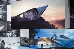 Title: Zaha Hadid Architects: Unbuilt Dates: 8 September - 27 October 2017 Location: Jaroslav Fragner Gallery, Prague – Czech Republic Photos: © Jiri Straka