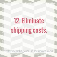 Forget high shipping costs! These 3 tips will make sure you never pay shipping again. Shop online in the convenience of your home, and save money doing it!