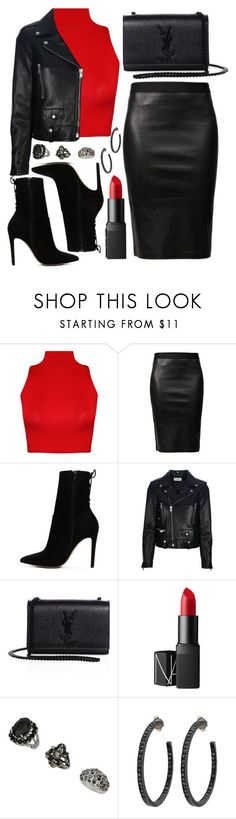 """Untitled #4399"" by natalyasidunova ❤ liked on Polyvore featuring WearAll, Helmut Lang, ALDO, Yves Saint Laurent, NARS Cosmetics, Topshop and Yossi Harari"