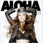Cover Aloha Magazine . Photo: Fernando Ivarra. Styling: Gina Ortega
