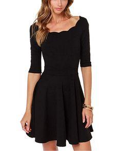 Black Dress, party dress, prom dress, little black dress