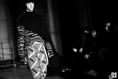 Backstage at Boris Bidjan Saberi, Fall/Winter 2014/2015 | Paris