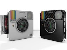 ¡Actualidad! La Polaroid para Instagram podría llegar en cualquier momento. Inspirada exclusivamente en el servicio de Instagram, la denominada Socialmatic le permitirá a los usuarios imprimir las fotos que editen con los filtros que posee la red social. Además lo podrán hacer remotamente aprovechando las conexiones que posee la cámara, tanto por Bluetooth como por WiFi. #instagram #polaroid #cam #camara