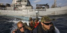 Sea Shepherd patrullando junto a Guardia Costera de Liberia. Foto Sea Shepherd Global/Karine Aigner