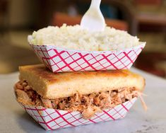 Southern Living contributing Barbecue Editor Robert Moss travels the South in search of the most mouthwatering 'cue. From vinegar- to mustard-based sauces, here are some that best represent this re. South Carolina, Visit North Carolina, North Carolina Homes, Bbq Places, Food Places, Places To Eat, Road Trip Usa, Asheville Restaurants, Carolina Bbq Sauce