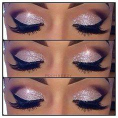 Pink Glitter Makeup Tutorial