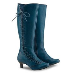 Joe Browns Dark turquoise remarkable side lace boots | Debenhams