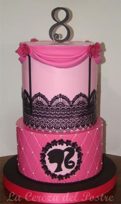 Barbie  - Cake by La Cereza del Postre La Plata