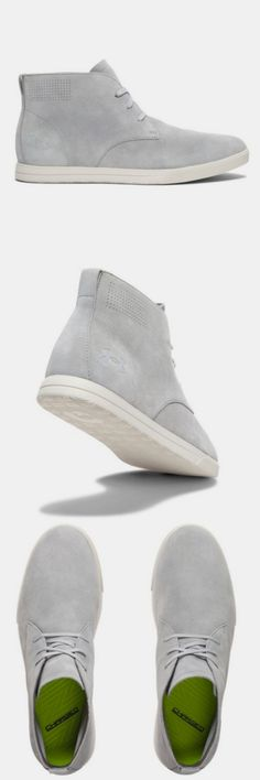 Men's Under Armour Coast Suede Shoes. Chukka-like silhouette that is comfortable and stylish.