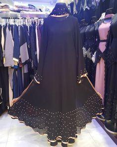 Burqa Designs, Ornaments Image, Abayas, Hijabs, Dubai, Retail, Sewing, Link, Instagram
