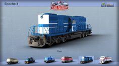 Rail Nation locomotivas