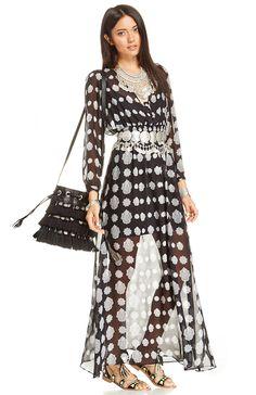 West   Main Birdie silk dress Jolies Tenues, Tenues D automne, Jolis  Vêtements aab89d56b403