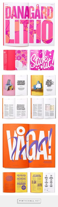 Printing Friends Magazine on Behance - created via https://pinthemall.net