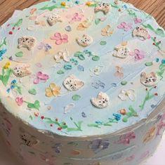 mug cake chocolate Pretty Birthday Cakes, Pretty Cakes, Gorgeous Cakes, Kreative Desserts, Korean Cake, Frog Cakes, Think Food, Cute Desserts, Just Cakes