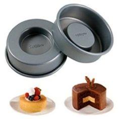 Wilton Tasty Fill Set of 4 Mini Cake Pan Set,$10.07