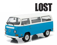 Diecast Auto World - Greenlight ARTISAN COLLECTION 1/18 Scale LOST 2004 TV Series 1971 VW Volkswagen Type 2 Bus Blue Diecast Car Model 19011, $56.99 (http://stores.diecastautoworld.com/products/greenlight-artisan-collection-1-18-scale-lost-2004-tv-series-1971-vw-volkswagen-type-2-bus-blue-diecast-car-model-19011.html)