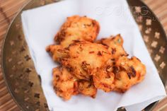 Cabbage and Onion Vada - #vegan #gluten free #Indian