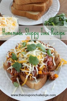 Sloppy Joes are one of the recipes we all remember as kids and one that I never liked.  Try this grown-up Homemade Sloppy Joes Recipe.