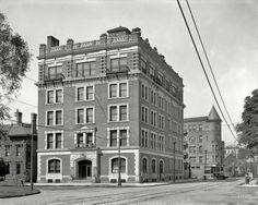 "Circa 1906. ""Y.W.C.A. building, Detroit.""  - Copyright 2014 by Shorpy Inc"
