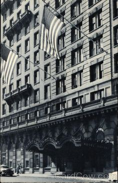 Historic Photo of The Hotel du Pont Great Places, Beautiful Places, Mid Atlantic States, Wilmington Delaware, Small Wonder, Destination Weddings, Historical Photos, East Coast, Old Photos