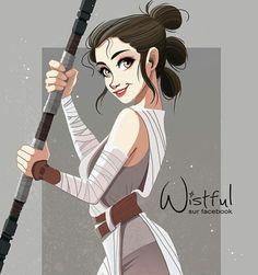 wishful.art Star Wars Rey