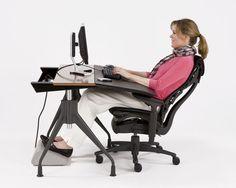 MODERN INTERIOR: Office Desk Chairs Ergonomic