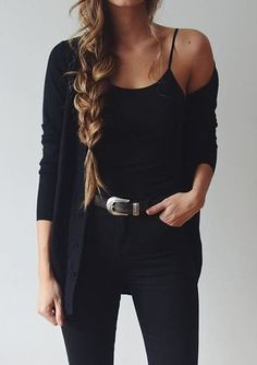 Spring outfits for women 2019 - the latest outfits and trends for women - summer fashion i . - Spring outfits for women 2019 – the latest outfits and trends for women – summer fashion ideas, - Fashion Mode, Look Fashion, Autumn Fashion, Fashion Outfits, Fashion Black, Fashion Clothes, Fashion Tips, Fall Fashion 2018, Fashion Fashion