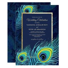 Peacock feather design bridal shower invitations - diy shower gifts customize creative Source by cus Whimsical Wedding Invitations, Art Deco Invitations, Wedding Shower Invitations, Elegant Invitations, Wedding Stationery, Wedding Favors, Invitation Cards, Wedding Ideas, Custom Invitations