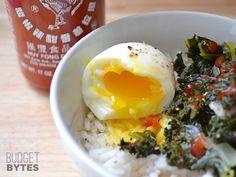How to Make Perfect Soft Boiled Eggs How To: Make Soft Boiled Eggs - Budget Bytes Egg Recipes, Cooking Recipes, Healthy Recipes, Broccoli Recipes, Cooking Tips, Recipies, Soft Boiled Eggs, Egg Dish, Le Diner