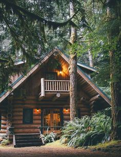 Cabin in the woods, Montana be nice #LogHomes