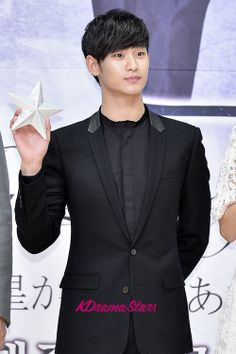 Kim Soo Hyun - Press Conference of SBS Drama 'You Who Came From the Stars'