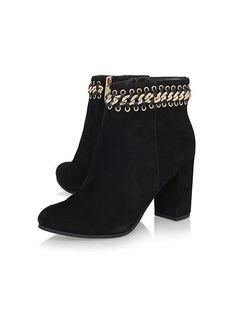 addd6f5fd837 Sphynx mid block heel print ankle boots Sphynx