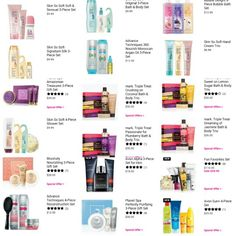 Bath and body gift sets from www.youravon.com/aweifenbach