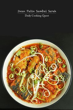 Ikan Patin Sambal Sereh - Fried Shark Catfish in Lemongrass Chili Sauce Recipe at http://dailycookingquest.com/by-cuisine/indonesian/ikan-patin-sambal-sereh-fried-shark-catfish-in-lemongrass-chili-sauce