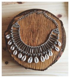Cowrie boho starement necklace Instagram: @arizona.on WWW.ARIZONA2.MITIENDANUBE.COM