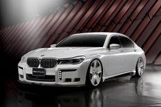 BMW 7-Series G11 Black Bison from the Wald International atelier