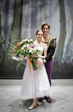 """Svetlana Zakharova and Friedemann Vogel /""""Giselle"""" /photo by Martin Divisek"""