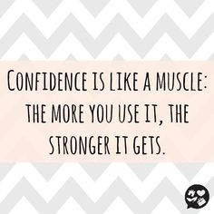 notes on Confidence building, from @TaiChiEmpower