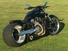 Custom Motorcycles, Motorcycles For Sale, Custom Bikes, Harley Davidson V Rod, Harley Davidson Sportster, Vrod Custom, Fat Bike, Bike Life, Cool Bikes