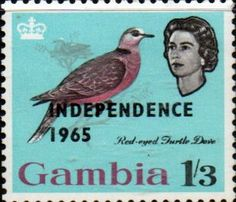Gambia Birds Set Complete Set Fine Mint  SG 233 45 Scott 215 27  Other African Stamps HERE