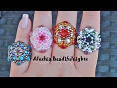 Friend me on facebook and show me what you made http://www.facebook.com/aleshia.beadifulnights    Materials needed:  4ft. of 8lb. or 10lb. monofilament  12-6mm beads rounds or bicones  6-8/0 seed beads  11/0 seed beads