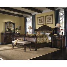 North Shore Sleigh King Bedroom Set By Ashley Furniture. See More. The  Coronado Collection Has A U201crefined Rusticu201d Appealu2014with Rugged, Old World