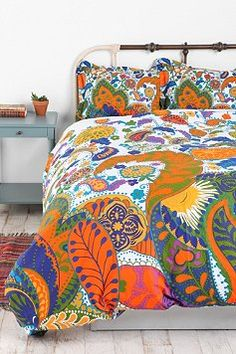 urban outfitters dayglo duvet