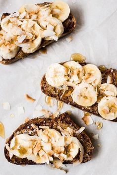 almond toast with coconut honey and sea salt #breakfasttoast #healthybreakfast #foodie