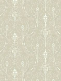 Marlborough, a feature wallpaper from Little Greene, featured in the London Wallpapers II collection.