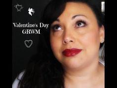 Valentine's Day GRWM - YouTube